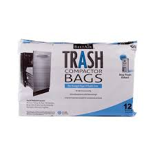 RPS Products WMCK1335012 6 Trash Compactor Bags, 2 Ply, 1.