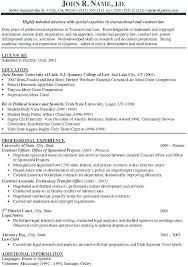 Litigation Attorney Resume Document Commercial Litigation Attorney
