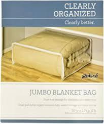 Amazon.com: 1 Dozen Clear King Size Comforter Storage Bags 12 Bag ...