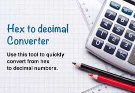 Hex To Decimal Conversion Chart Hex To Decimal Converter