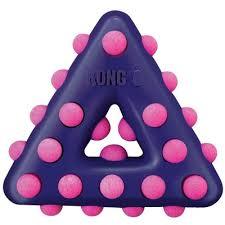<b>Kong Игрушка</b> для собак <b>Dotz</b> треугольник, резина - купить от 594 ...
