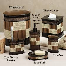 Brown Bathroom Sets Bathroom Decor