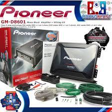 pioneer gm d8604. pioneer gm-d8601 1600w class d car audio subwoofer gm d8604
