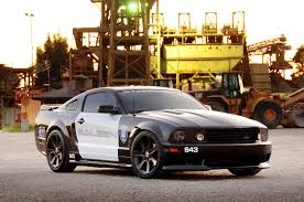 Mustangs in Movies: 2005 Saleen Police Car Rolls Out for First ...