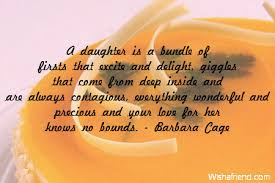 A Daughter Is A Bundle Of Birthday Quote For Daughter Classy Birthday Quotes For Daughter