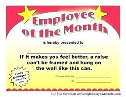 Funny Awards At Work Free Printable Funny Certificate Templates Birth Picture