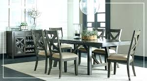 gray dining room chairs. Gray Dining Set Signature Table And Chairs Furniture Warehouse Room West Indies Rustic