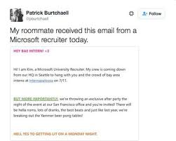 Hey Bae Heres Microsofts Very Awkward Invite To A Party Cnet