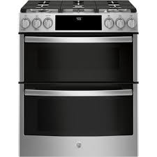 ge profile double oven. Beautiful Double GE Profile 67 Cu Ft SlideIn Smart Gas Range With Self Throughout Ge Double Oven O