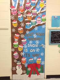 winter classroom door decorations. Exellent Classroom 46 Winter Time Door Decorations Classroom For Classrooms  And Creative But Simple  Getoutmaorg With Classroom