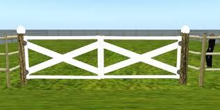 farm fence gate. Log%20ranch%20farm%20fence%20with%20double%20white%20wood% Farm Fence Gate