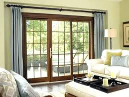 triple sliding glass door triple pane sliding glass door triple sliding glass doors door curtains google