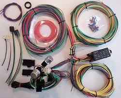 21 circuit ez wiring harness mini fuse chevy ford hotrods 21 circuit ez wiring harness mini fuse chevy ford hotrods universal x long wires