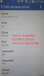 Why mobile internet not working in my android phone?