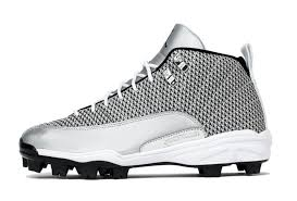 jordan baseball cleats. know that this has been the year of air jordan 12, but brand is taking things a step further by also releasing 12 baseball cleats. cleats r