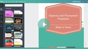 presentation template designs how to create a keynote or powerpoint template design in canva