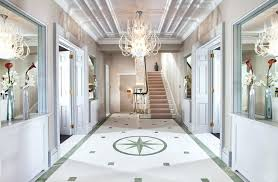 what size chandelier for entry