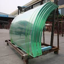 clear and colored pvb sgp safety laminated glass for railings balcony facade