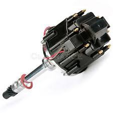 350 chevy ignition ignition hei black cap 283 305 327 350 400 small block sbc chevy distributor 50k