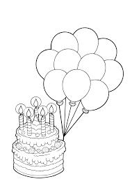 Verjaardagstaart Voor Opa Kleurplaat Geburtstag Ausmalbilder