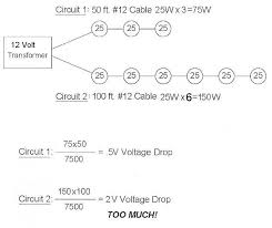 here is an example of how to calculate voltage drop source landscape lighting voltage drop calculator