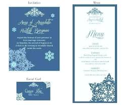 wedding menu template vector free download wedding menu