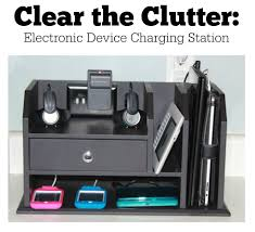 Hanging Charging Station A Few Simple Hacks Creates A Charging Station That Solves All Your