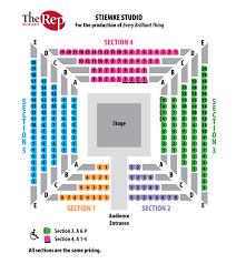 Milwaukee Die Chart Stiemke Studio Seating Chart The Chinese Lady