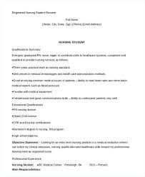 Nursing Student Resume Examples – Armni.co