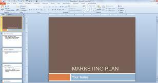 Sample Marketing Plan Powerpoint Marketing Plan Powerpoint Example Free Marketing Plan
