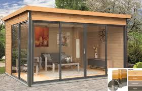 Hier wird der fußboden zuletzt eingebaut, was allerdings auch bereits vor dem eindecken. Gartenhaus Studio 44 D 4 18x3 22m 4 Farben Mit Holzboden 3 Schiebeturen Neu Ebay