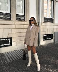 100+ Outfits: White Boots ideas in 2021 | outfits, white boots, fashion