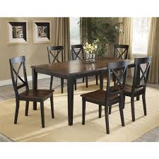 7 piece black dining room set. Brilliant 7 Piece Black Dining Room Set With . 1