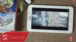 Schannel - Mở hộp máy tính bảng giá rẻ Samsung Galaxy Tab 3V - YouTube