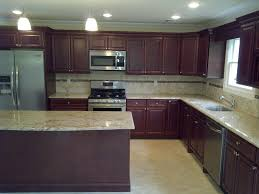 assembled kitchen cabinets pre cabinetry custom cabinet cherry glaze view photo gallery island white looking direct