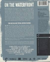 on the waterfront blu ray