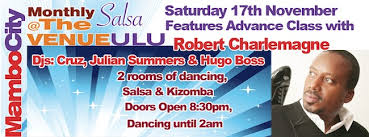 Monthly Salsa at The ULU - Robert Charlemagne