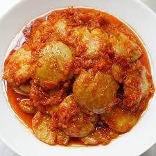 Semur jengkol, masakan sederhana rumahan yang sering dijadikan lauk pendamping untuk nasi uduk maupun bintang utama di berbagai perayaan betawi. Resep Jengkol Balado Khas Sunda Bumbu Sederhana Yang Mantap Empuk Dan Tidak Bau
