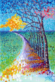 art images of nature. Perfect Nature The Avenue Acrylic 2008 4 X 6 In Art Images Of Nature A