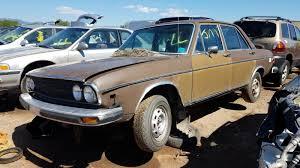 Junkyard Find: 1976 Audi 100 LS Sedan