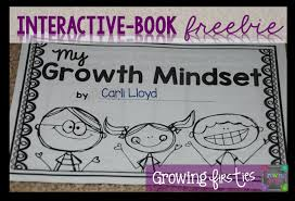 Printable Growth Mindset Interactive Book Freebie Free Coloring Book