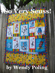 38 best Kids Quilts images on Pinterest | Baby quilts, Kid quilts ... & Very Easy Quilt Patterns | So Very Seuss Dr Seuss quilt pattern by  twirlytutus on Etsy Adamdwight.com