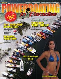 Powerboating In Paradise Vol 11 3 by STU JONES issuu