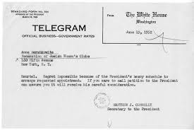 Correspondence Between Hilda Freeman and Matthew J. Connelly with  Attachments | Harry S. Truman