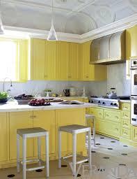 yellow kitchen cabinets glamorous lemon yellow kitchen by julie hayes