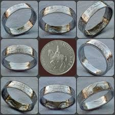 Jason S Jewelry Design Gallery 50 Leke Albania Coin Ring Coinring Coinrings Art