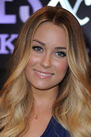 lauren conrad keeps her lipstick flattering by choosing a color with a hint of pink