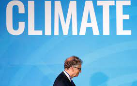 Bill Gates, Climate Warrior. And Super Emitter.