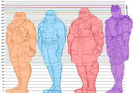 Height Chart Reference Height Chart Tmnt 2014 16 Tmnt Hq Amino
