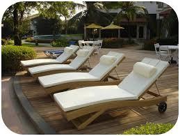 outdoor lounger